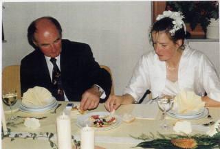 Braut mit Schwiegervater