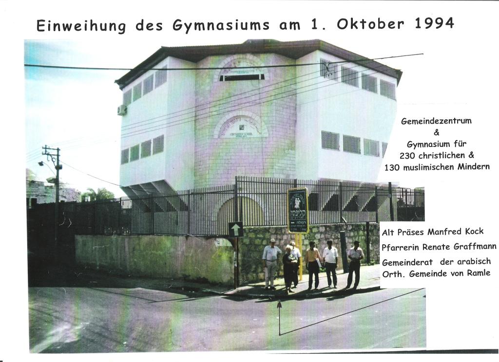 Einweihung des Gymnasiums 1_10_1994